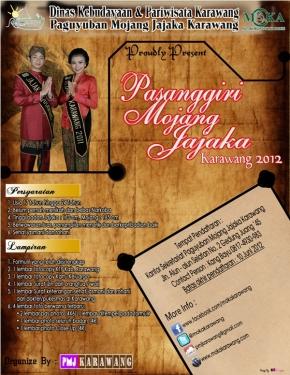 Pasanggiri Mojang Jajaka Karawang2012